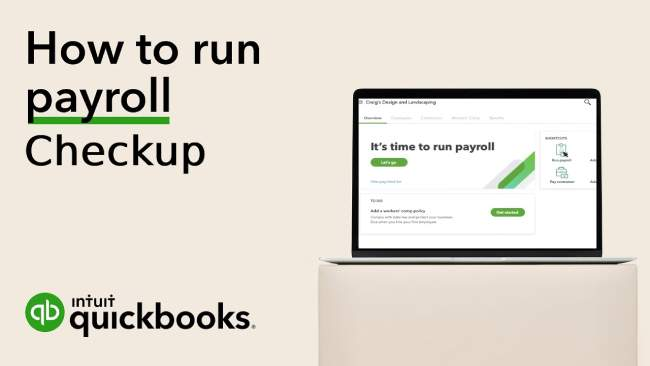 How to run QuickBooks Desktop payroll checkup