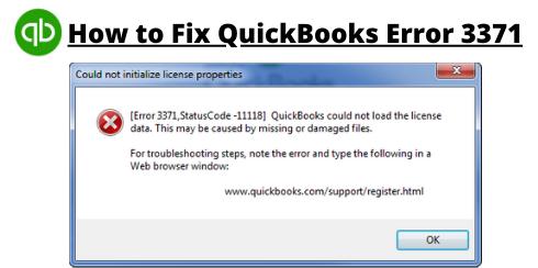 error 3371 status code 11118 quickbooks