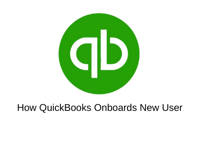 How QuickBooks Onboards New User