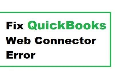 List of QuickBooks Web Connector Error