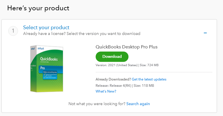 quickbooks desktop download 2016