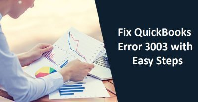 QuickBooks Error 3003