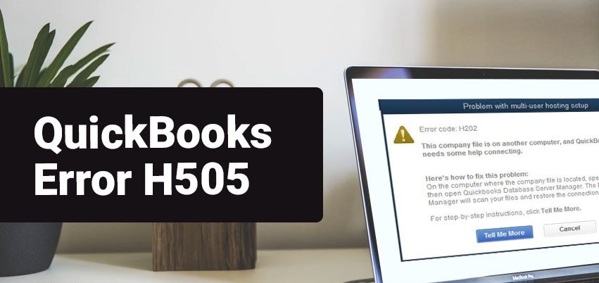 QuickBooks Error H505​