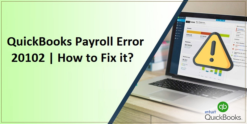 QuickBooks Error 20102