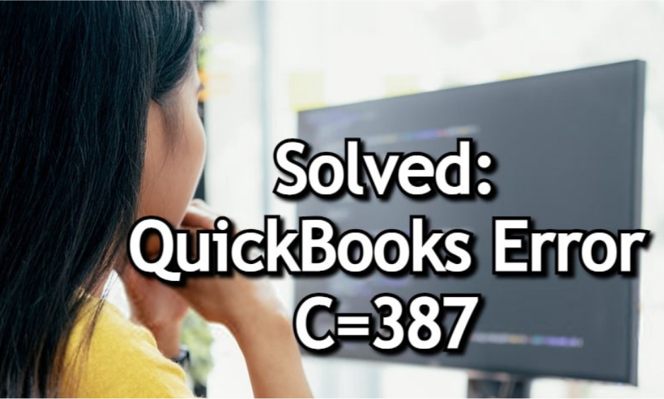 QuickBooks Error C 387