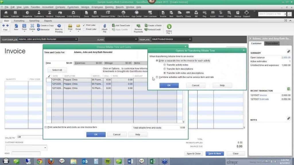QuickBooks For Contractors_