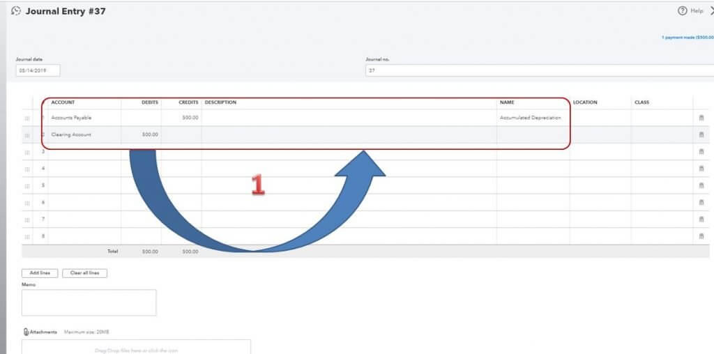 How to zero out accounts payable in QuickBooks