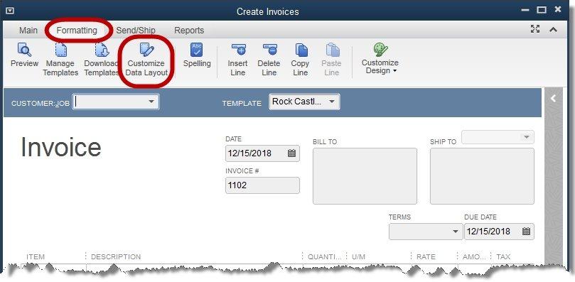 How to add logo to QuickBooks invoice