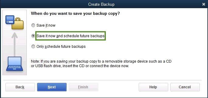 How to take backup in QuickBooks Desktop software