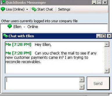 How to use and unable QuickBooks Messenger