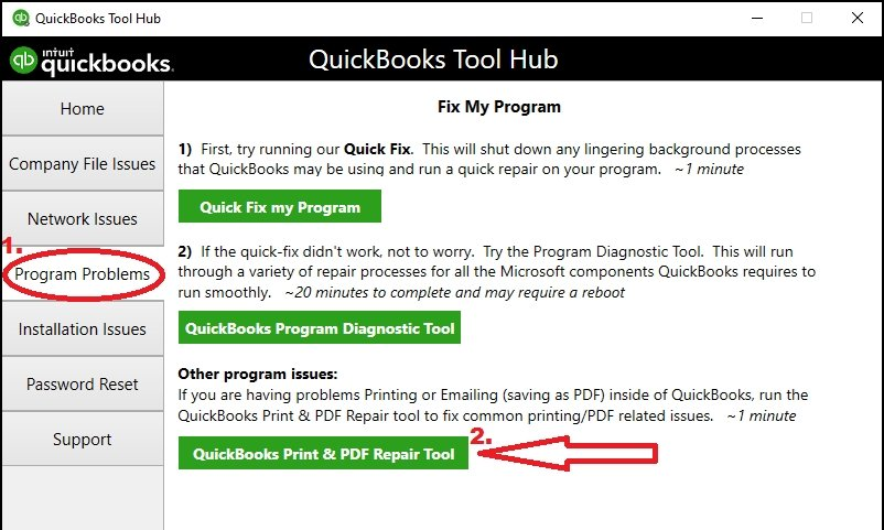 Quickbooks PDF Repair Tool