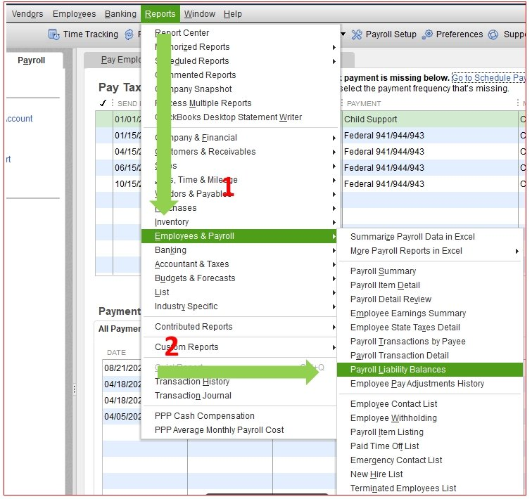 How to set up health insurance deduction in QuickBooks
