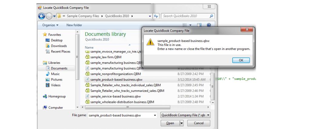 What is qbm file