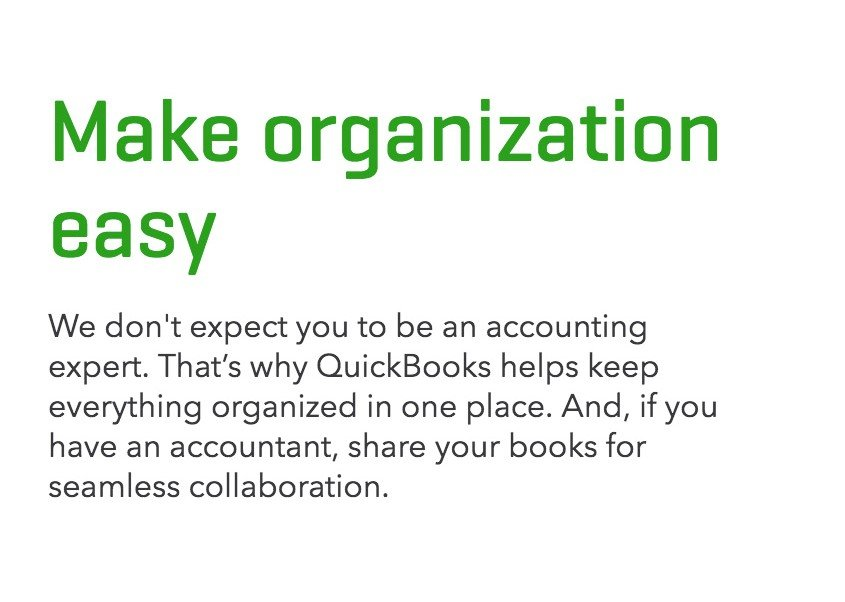 Why is QuickBooks best for small business?