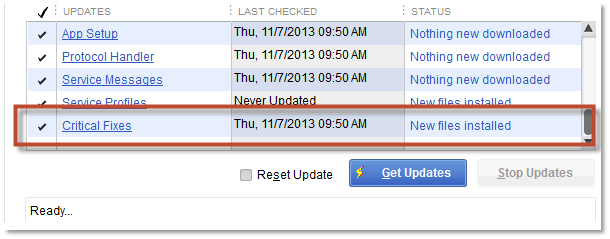 How to update QuickBooks to latest release