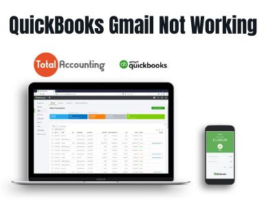 QuickBooks Gmail not working