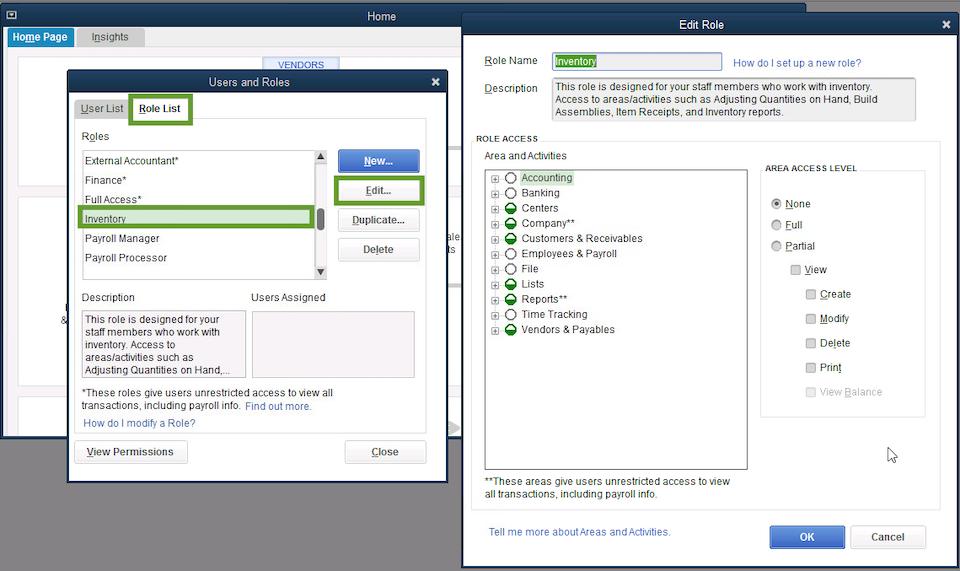 Inventory Management in Quickbooks Desktop