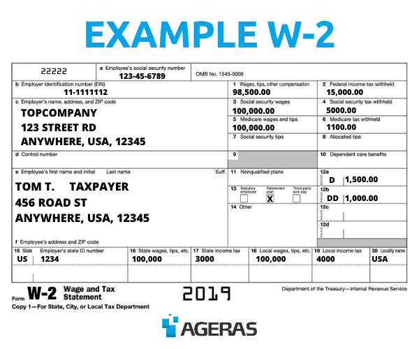 Guide to W-2s for 2020 taxes